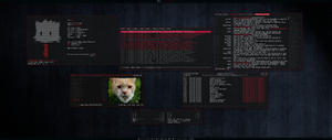 [arch] [awesomewm] Home Desktop August 2013