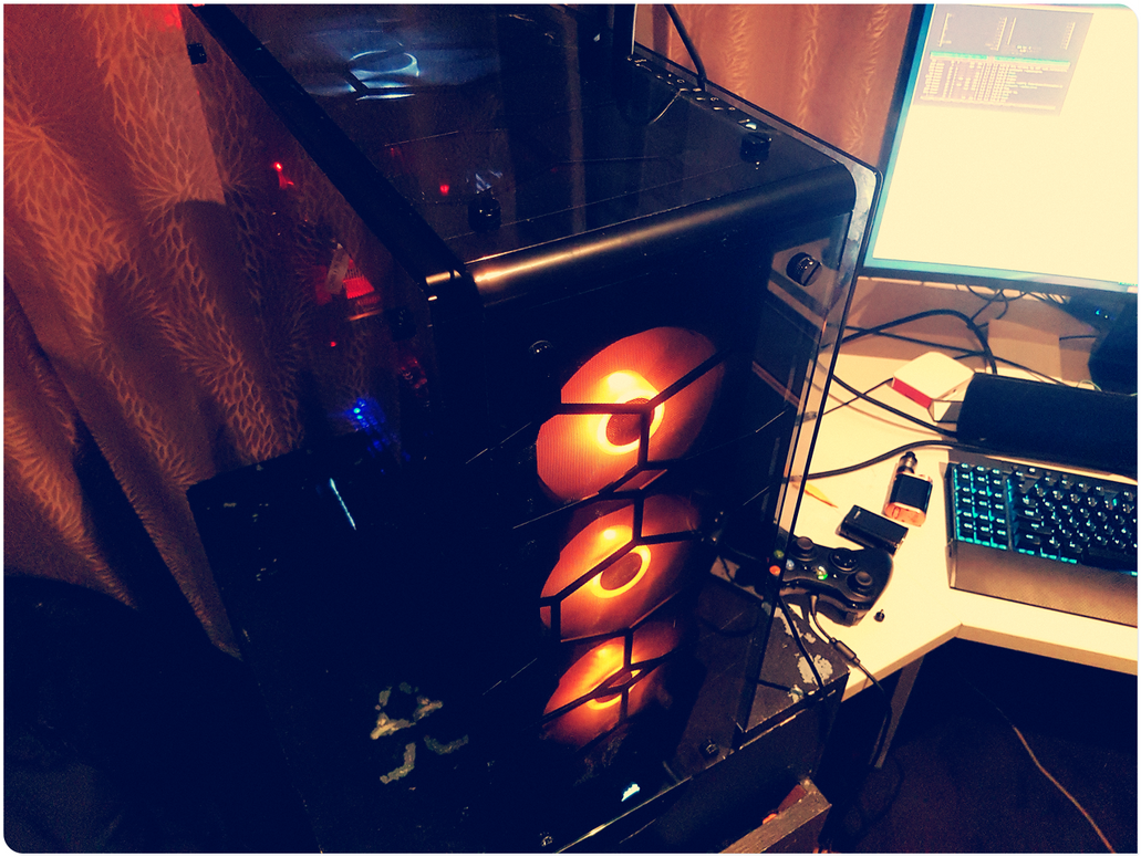 AMD Ryzen 1800x Linux Build Part I by f-s0ciety on DeviantArt