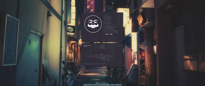 [arch] [bspwm] August Desktop 2017