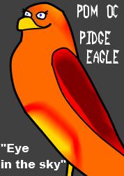 PoM OC: Pidge the Eagle by IrkenInvaderKyle