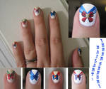 Sailor Moon Nail Art: part 1