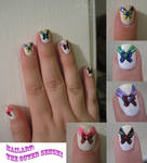 Sailor Moon Nail Art: part 2