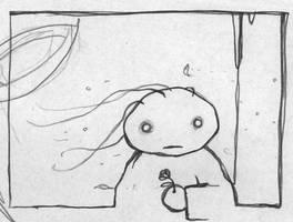 The Little Match Girl - Sketch