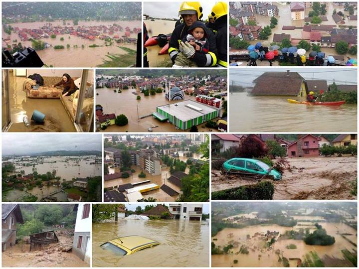 2014 Floods in Serbia and Bosnia by ArtBIT