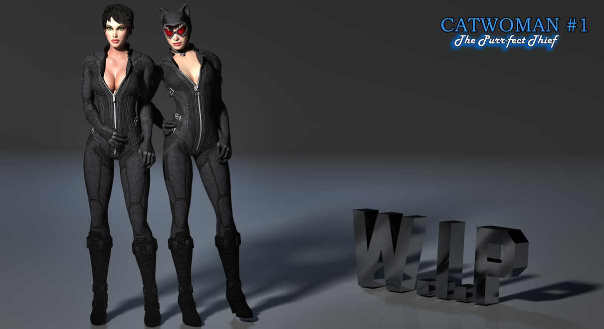 Catwoman_No Mask Mod_XPS (WIP) by arpith20