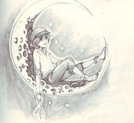 Lune : Songe 28 by explosante