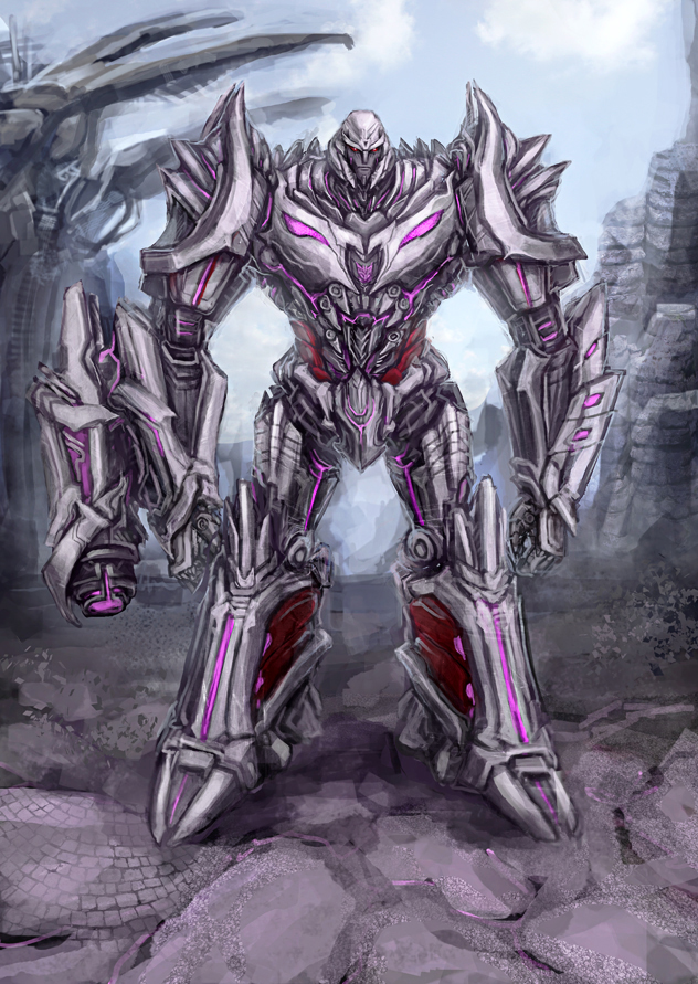 transformers fall of cybertron megatron concept art