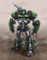 Transformers: Hound by Diovega
