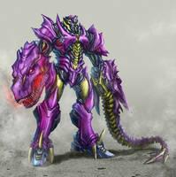 Beast Megatron by Diovega