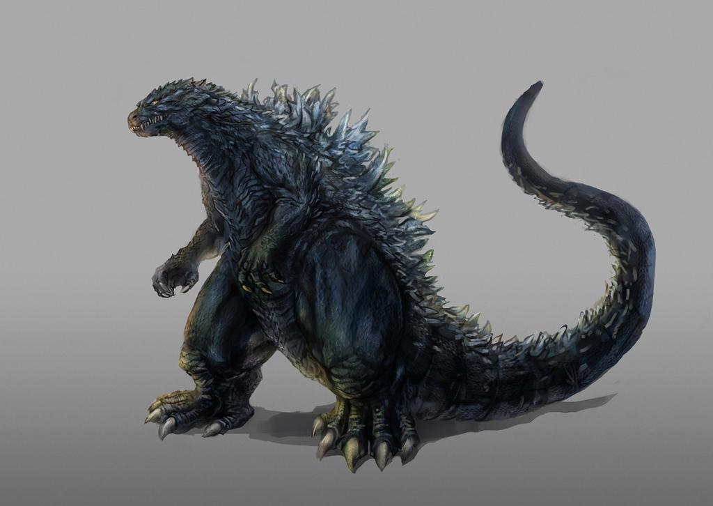 Godzilla Concept by Diovega