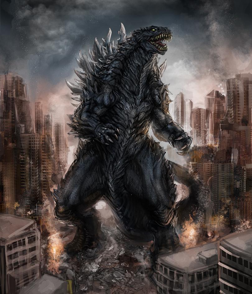 Godzilla by Diovega