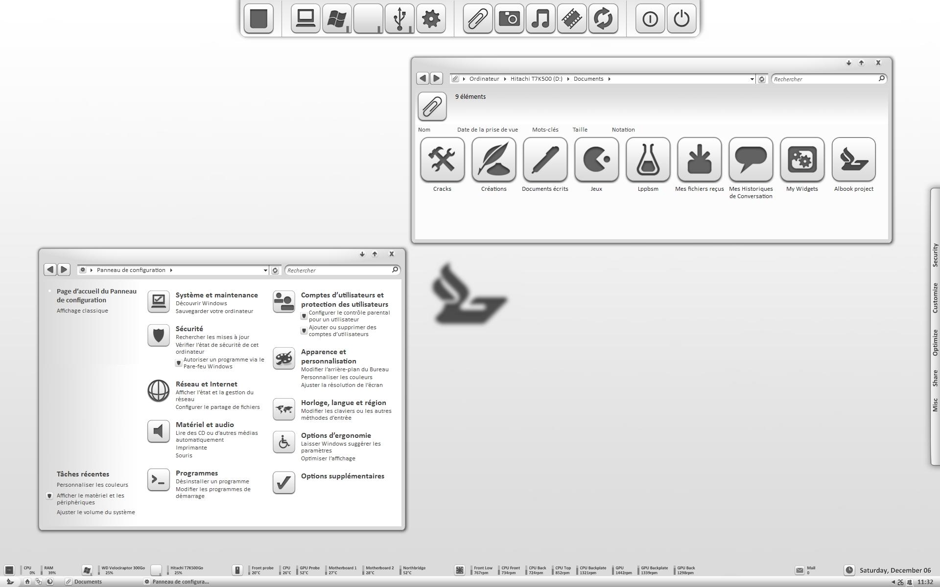 December 2008 desktop by StopDreaming