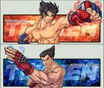 Tekken: Jin and Kazuya
