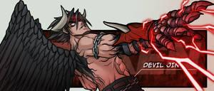 Tekken: Devil Jin by CoolBlueX