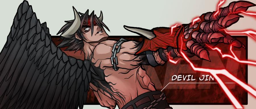 CoolBlueX brings Devil Jin to terrifying life