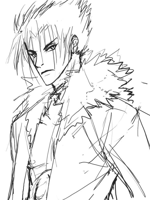 sketch: bishi jin by CoolBlueX