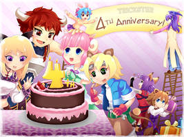 Trickster: 4th Anniversary by CoolBlueX