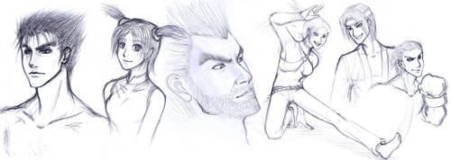 When Boredom Strikes...Tekken by CoolBlueX