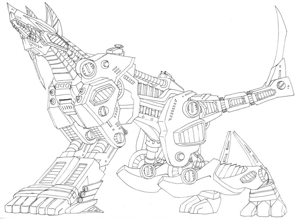 coloring pages zoids - photo#23