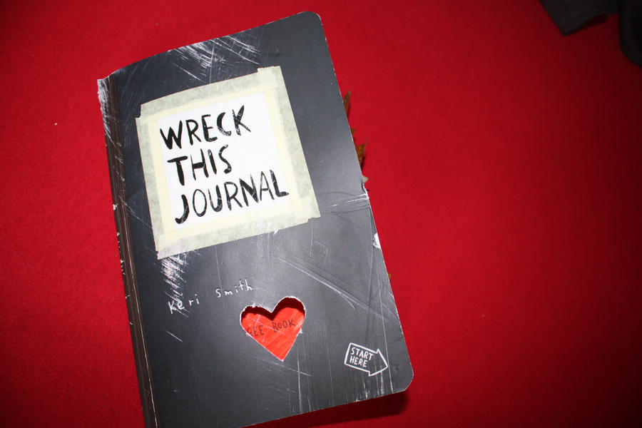 Wreck This Journal Cover Wreck this Journal by