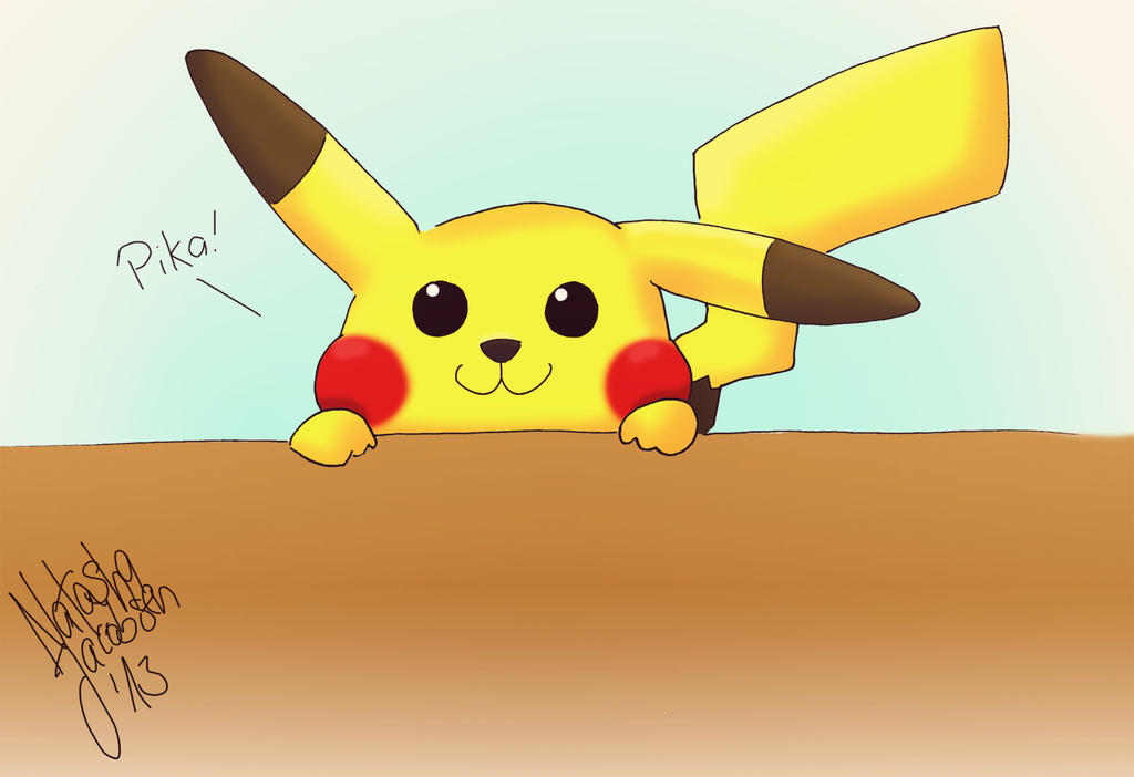 pikachu by MonCherii