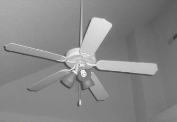 You'll never be as lonely as a ceiling fan
