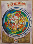 Calendar (or Wheel of the year) by LoveLiveLilith