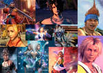 Collage Of Final Fantasy X+X2