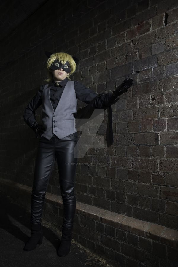 Formal Chat Noir by Fireflyhikari