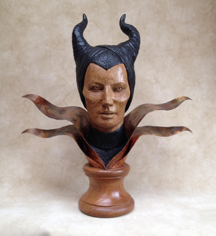 Maleficent   (Oak and copper) by AllenNecchi