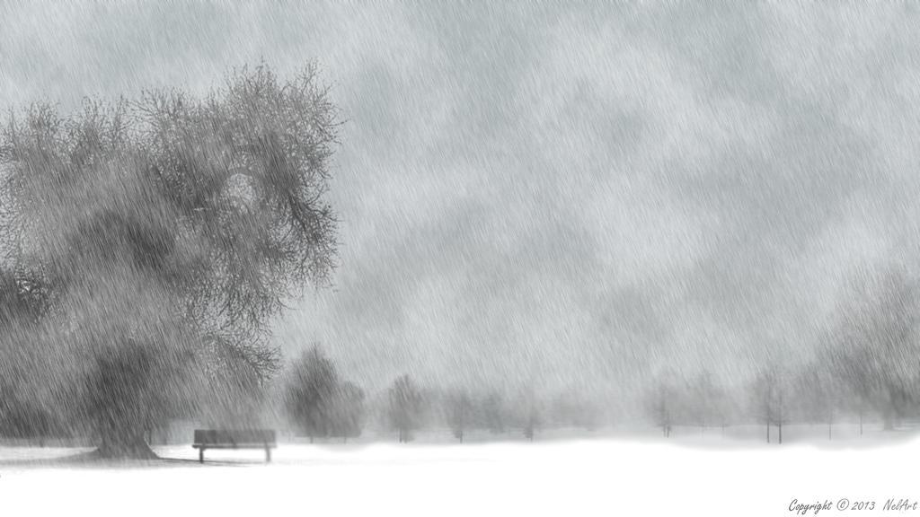 Winter in the park vol. 2 by Nela23235