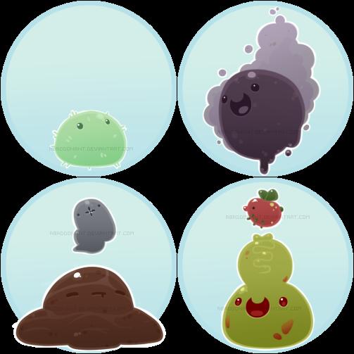 Merry Mire Slimes by AbaddonAnt on DeviantArt