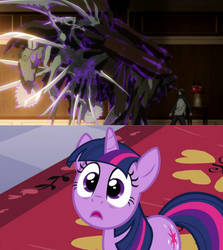 Twilight scared by Dr. Gamimozu by PrincessYandereQuinn