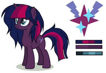 MLP FIM Next Gen: Midnight Fizzle Star by PrincessYandereQuinn