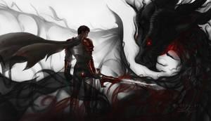 Davion (DK) and Slyrak Dragon's Blood Dota2