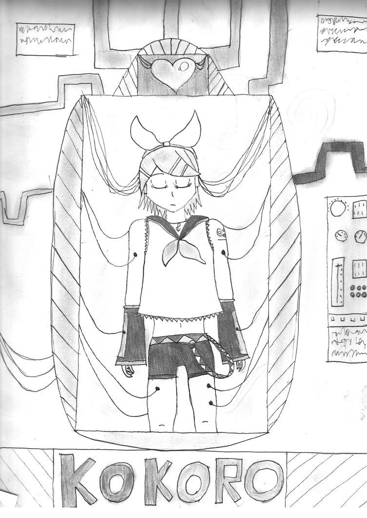 Kokoro by k-9girl