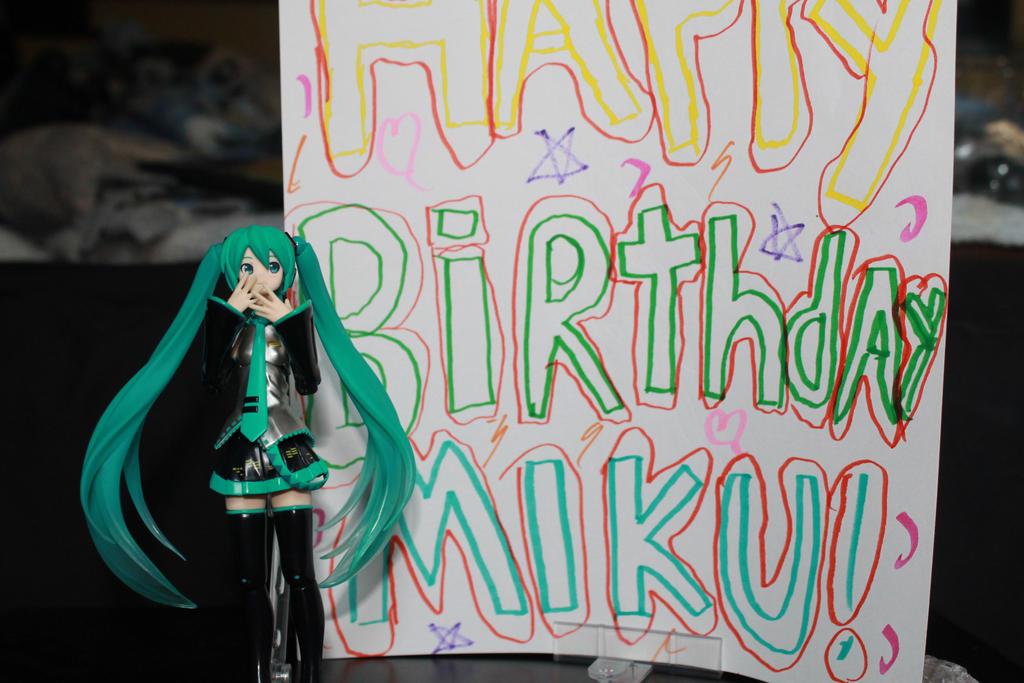 Happy birthday Miku!!!!! by k-9girl