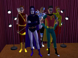 Meet the Sim Titans by Guardian-of-Azarath