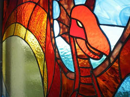 The red dragon - detail by ioglass