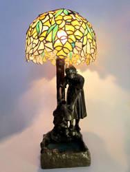 Flower lampshade by ioglass