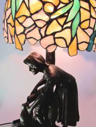 Flower lampshade closeup 1 by ioglass
