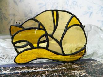 Yellow cat by ioglass