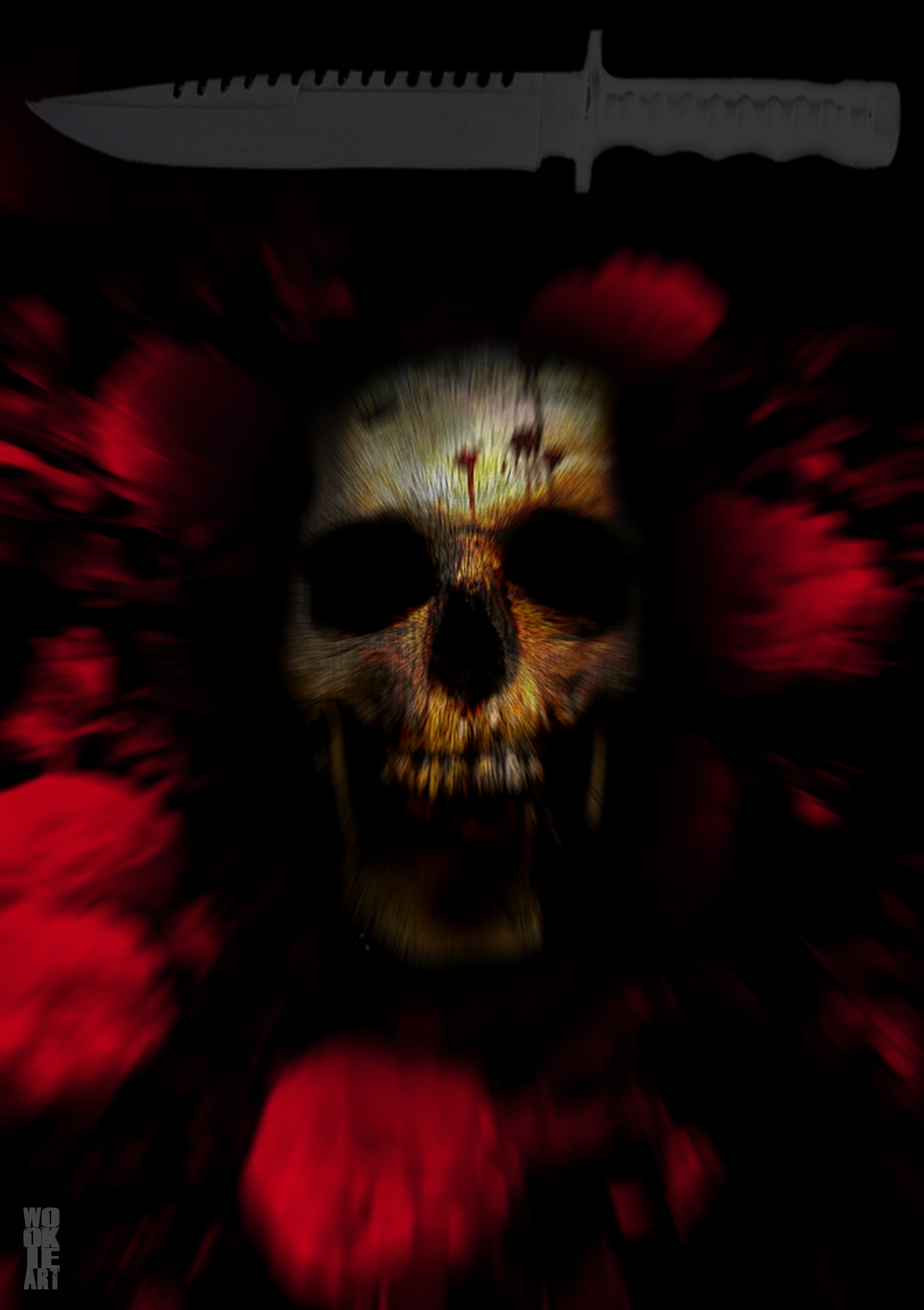 Blood Rush by bloodsoakedgraphics
