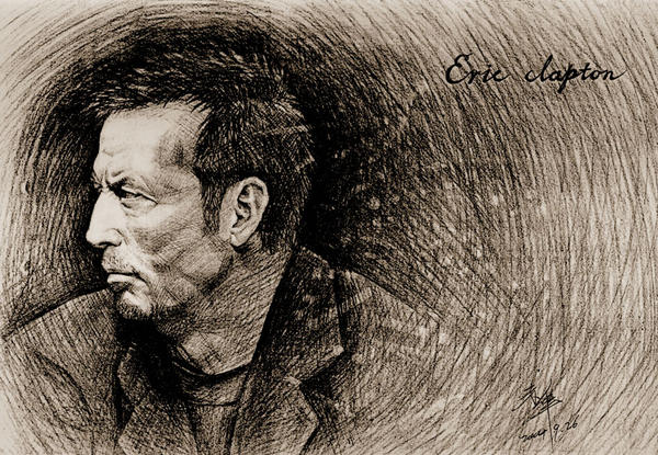 Eric Clapton by CommonKestrel