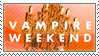 Vampire Weekend Stamp by Emico
