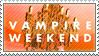Vampire Weekend Stamp by Emico