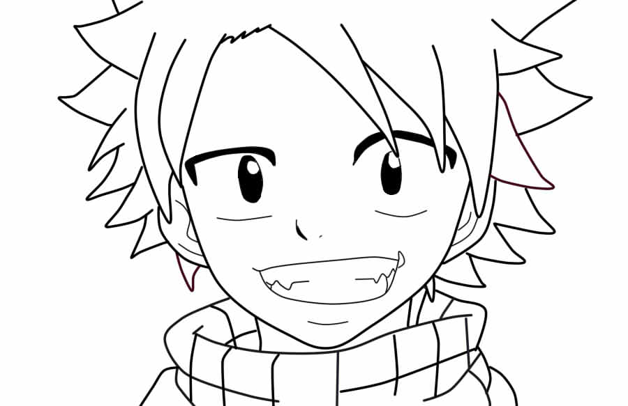 Anime Boy Coloring Pages