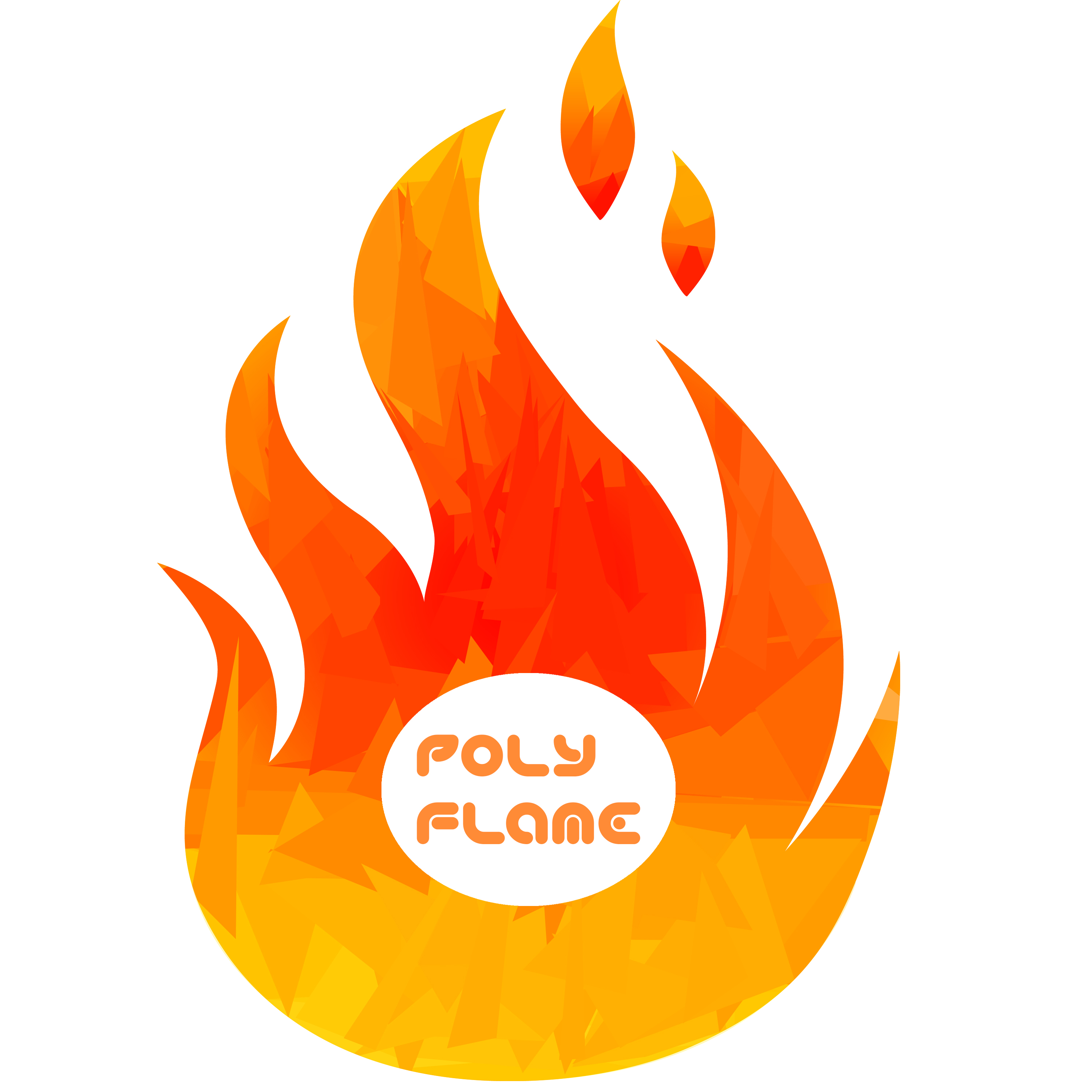 poly flame logo by poly flame on deviantart rh poly flame deviantart com frame logos flame logo split hoodie
