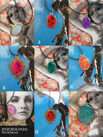 PSYCHOLINES Necklaces Brooch by SapphireKat