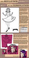 TUTORIAL: Basic Illustrator Part 6 by SapphireKat